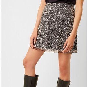 Sequin French Connection Skirt